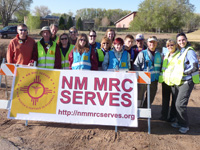 Photo of a group of NM MRC staff while on a pilgrimage.