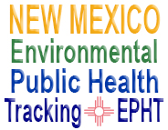 Summarizes air quality and water quality data as well as environmental health outcomes such as asthma, myocardial infarction (heart attack), birth defects, reproductive outcomes, thyroid cancer, and leukemia. It includes studies on the linkage of ozone in air with asthma, and arsenic in drinking water with bladder cancer. It also provides warning systems based on real-time satellite data for wildfires, dust, heat waves, and other weather events.