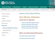 Directory of Libraries