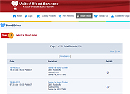 United Blood Services Blood Drives