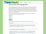 Community Life Engagement Research Project