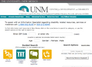 New Mexico Disability-Related Resource Search