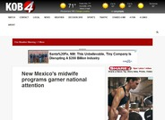 New Mexico's Midwife Programs Garner National Attention