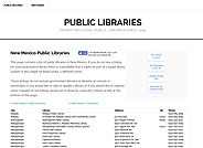 Public Libraries of New Mexico