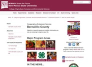 New Mexico State University Bernalillo County Cooperative Extension Service
