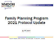 Reproductive Health: 2019 Protocol Update Video