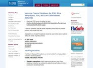 Influenza Infection Control Guidance for First Responders