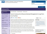 Interim Guidance for Influenza Outbreak Management in Long-Term Care Facilities