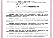Children's Oral Health Month Proclamation