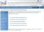 Mental Health Reports for New Mexico 2015